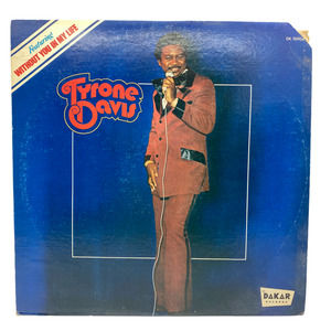 Tyrone Davis Without You In My Life Vinyl